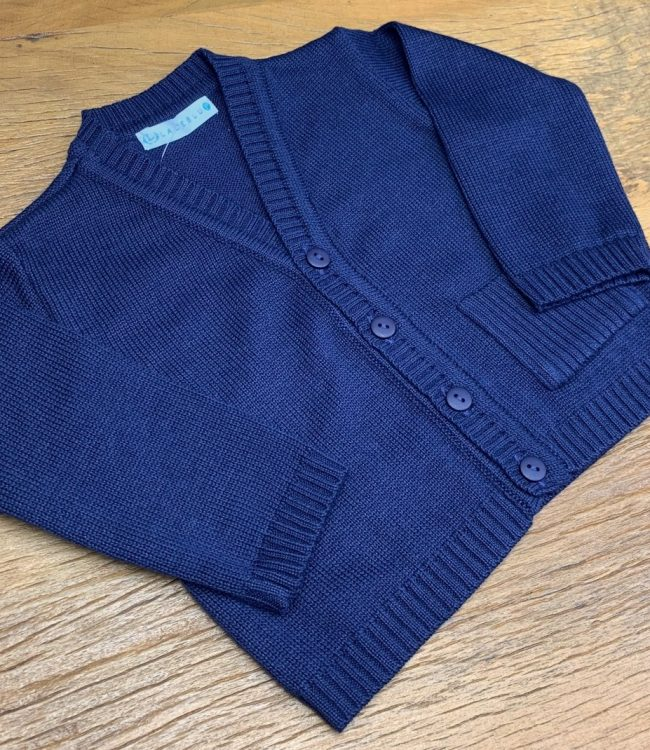 RIMG 0836 650x750 - Casaco - Tricot - Heitor  - Naval
